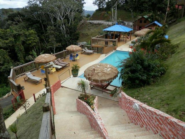 Hard Rok Village -  5 Cabins w/Pool - Orocovis - Kulübe