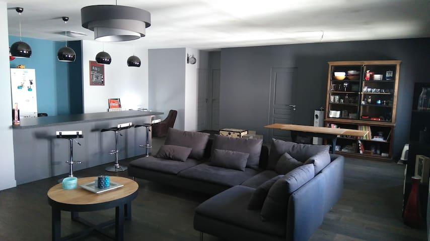 Appartement style loft - Carvin - Appartement