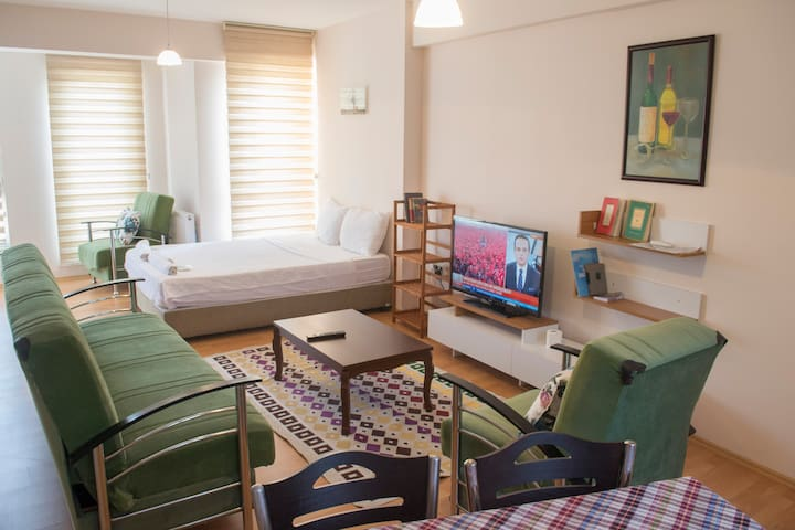 Tavukcu Ahmet Bright Clean Studio Apartment - Denizli