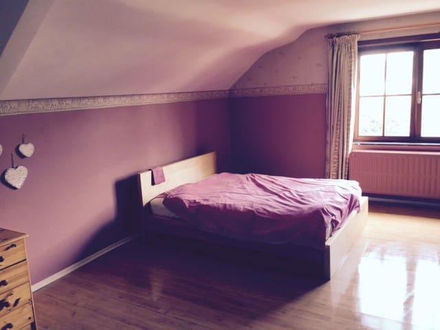 Grande chambre privée à louer dans villa - Zaventem - 別荘