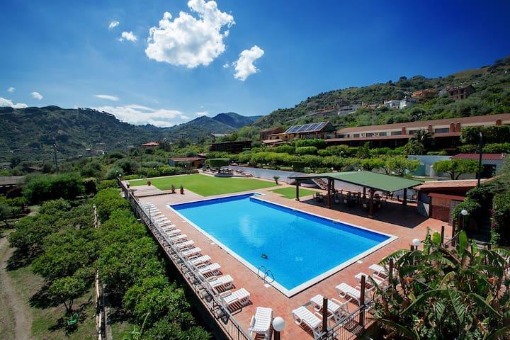 Sea view room in resort with spa - Furci siculo - Oda + Kahvaltı