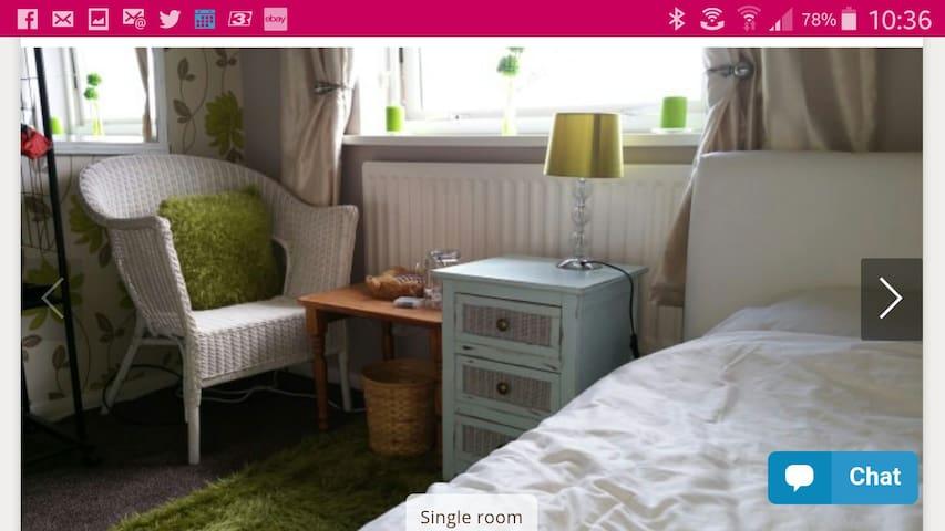 Single room nicely decorated . Sleeps 1. - Jarrow - Ev