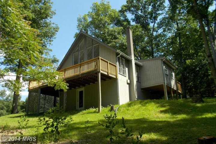 Cozy A-Frame by Shenandoah River in Wine Country! - Front Royal - Casa