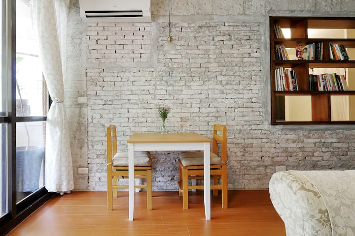 Maru Industrial Mixed Style Suite near Xin Bei Tou - Beitou District - Appartement