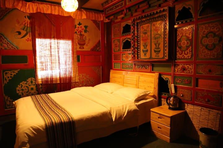 藏式木屋大床房 - Aba - Cabane
