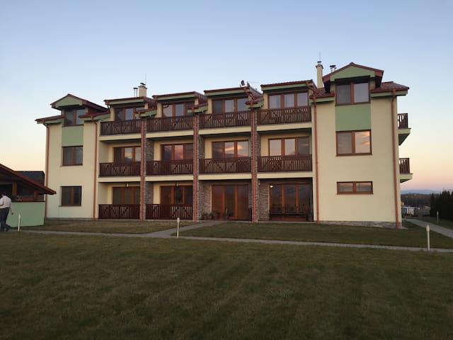 Mountain view apartment-golf course - Veľká Lomnica - Appartement
