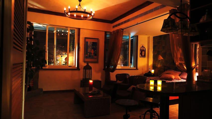 Vintage Home-Nostalgia near TPE101 - Xinyi - Okręg - Apartament