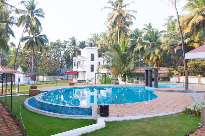 GOAgaga-Near Club Cabana/Baga beach in New Complex - Arpora - Appartement