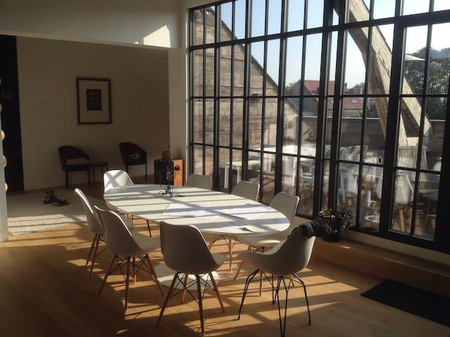 Ample enlightened loft Mechelen - Mechelen - Apartemen