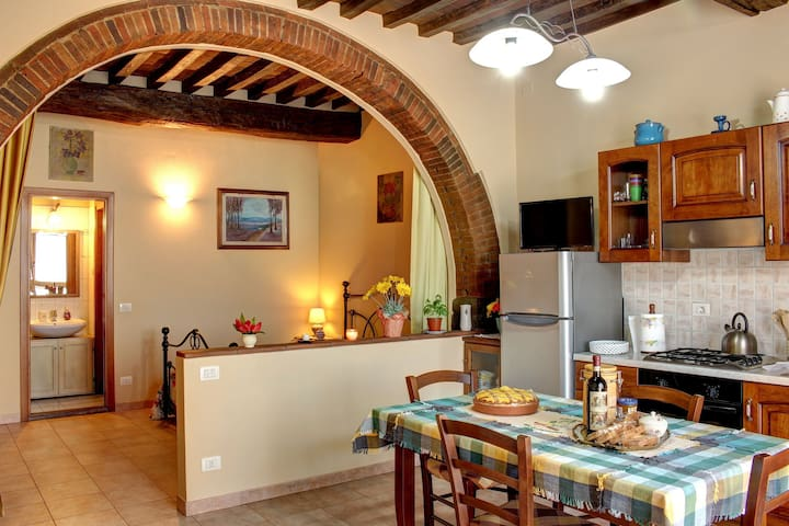 Typical apartment in the Chianti. - Ponte Agli Stolli - Appartement