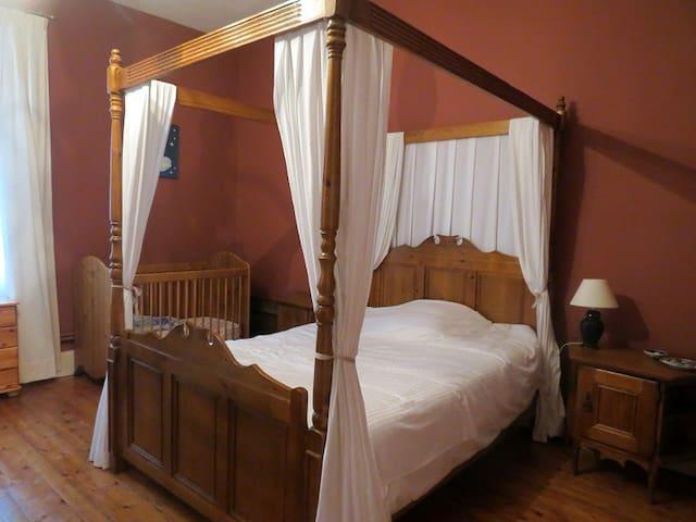 Les Loubejac chambre Coeur - Sauveterre-la-Lémance - Ev