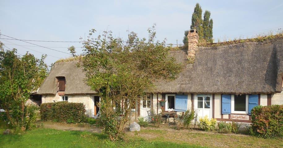 Chaumière Bord de Seine - Sahurs - Huis