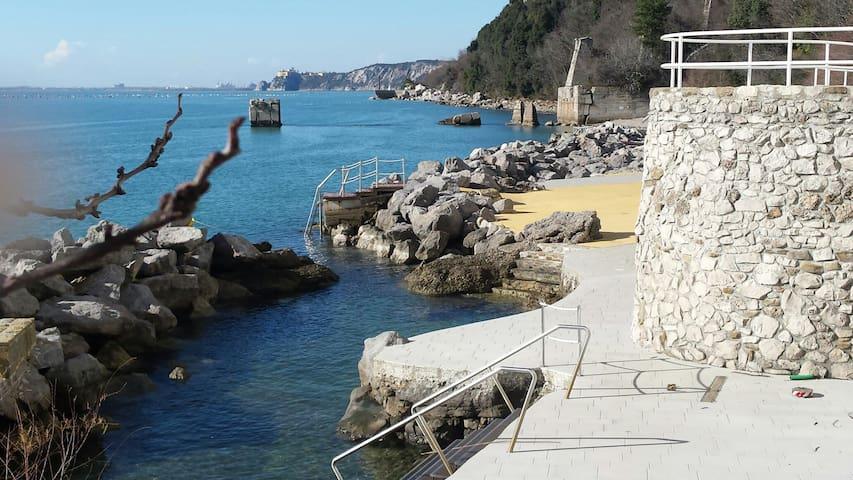 Bellissimo monolocale con spiaggia - Santa Croce Mare - Appartement