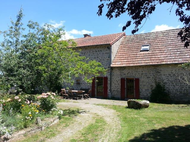 Gîte de Busserette - Moutier-Rozeille - Ev