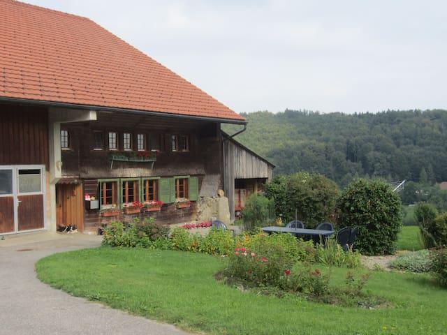 Ferme du Bietschland - Le Mouret - Rumah Tamu