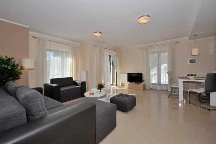 Apartment 5 bed, 2 rooms, 57 m2, mounatin view - Szklarska Poręba - Daire