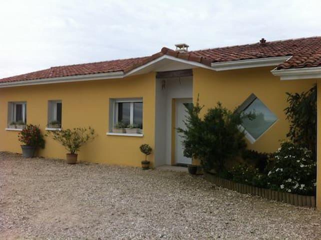 Maison neuve plain pied - Eugénie-les-Bains - Casa