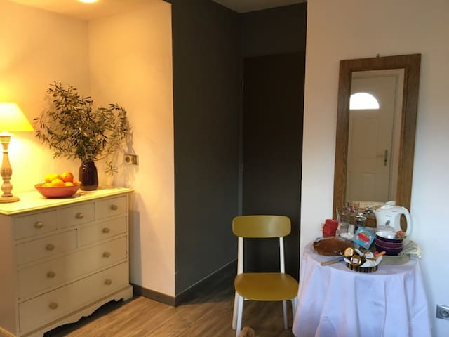 studio douillet et indépendant au calme plein pied - Vescovato - Leilighet