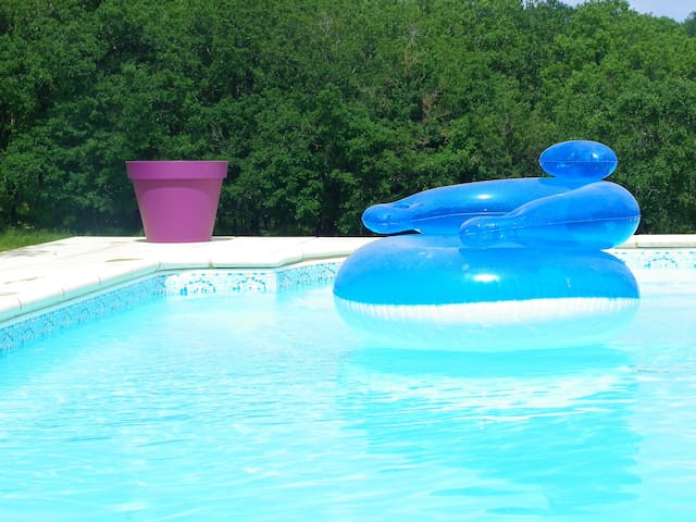 Lovely Quercy house in the countryside heart - Catus - Semesterboende