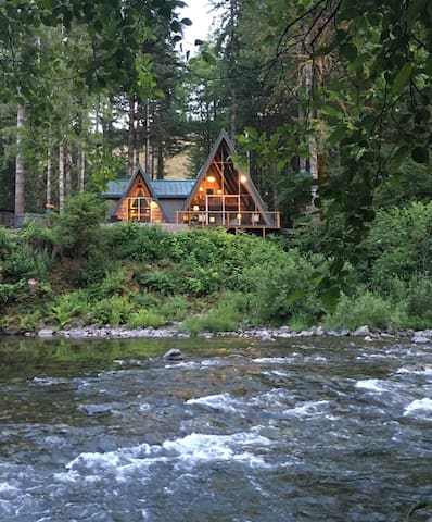 Treehouse on the Little North Fork - Lyons - Maison