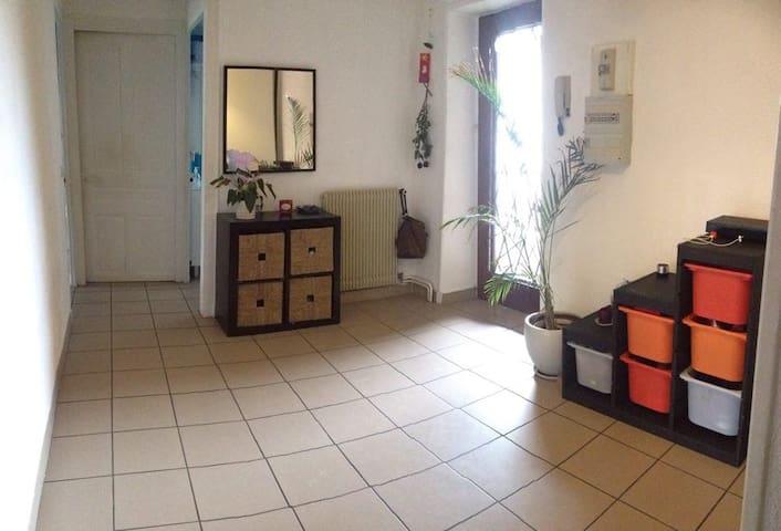 Appartement proche de l'autoroute - Montmerle-sur-Saône - Apartemen