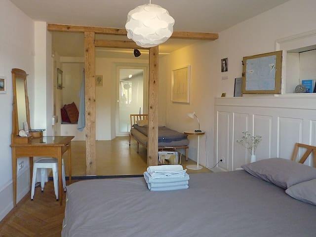 Beautiful room in Aarau for 1-4 pax - Aarau - Bed & Breakfast