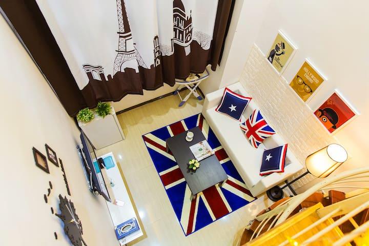 The British Easy apartment, travel - Guangzhou - Leilighet