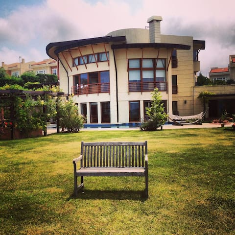 Private Royal Villa 5+2 Pool Jakuzi Lift Sea View - Sarıyer - Hus