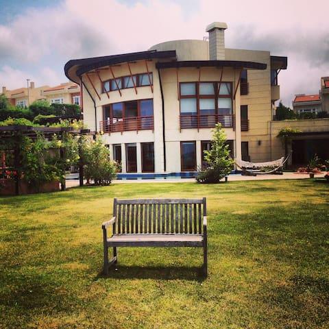 Private Royal Villa 5+2 Pool Jakuzi Lift Sea View - Sarıyer - Maison