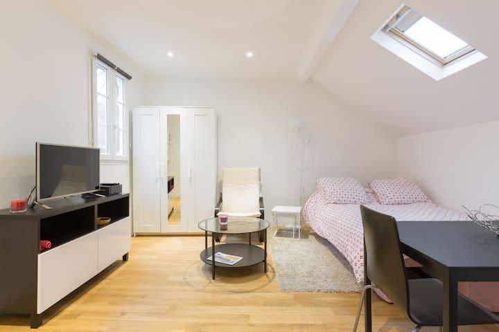 Studio Poissy au centre ville - Poissy - Apartament