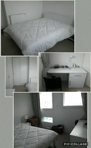 Chambre privée cosy en sous location ou à la nuit - Pessac - Apartemen