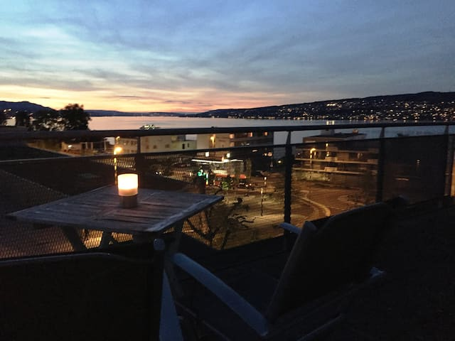 Stunning Lake View, Bright&Airy Apt incl parking - Horgen - Leilighet