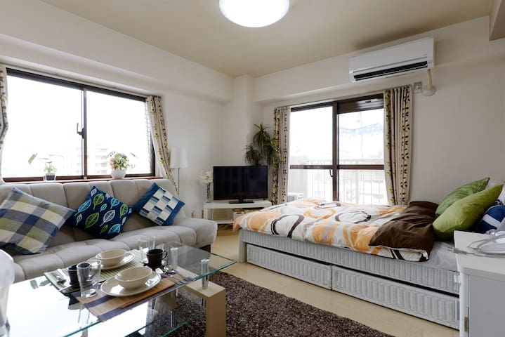 My Lovely Room nearby Beautiful Park, North Tokyo - Adachi-ku - Appartement