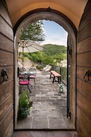 One-bedroom apt. near Foligno - Foligno - Daire