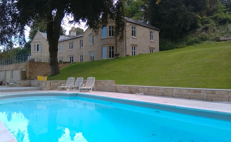 Fabulous country house with swimming pool - Limpley Stoke - Hus