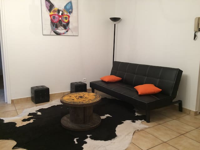 Valence centre, appartement terrasse et parking - Valence - Leilighet