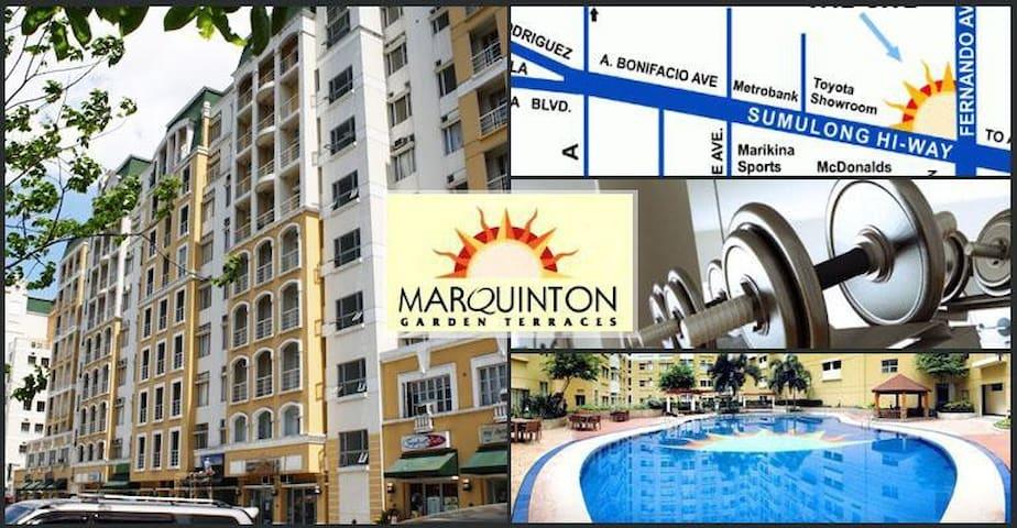 Marquinton 1 bedroom condominium  (9th floor) - Marikina - Condominium
