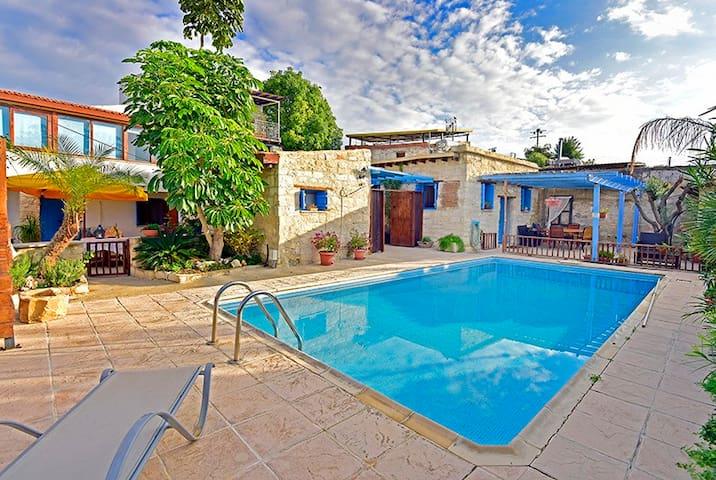 Cottage Houses 2 Bedroom Swimming Pool Near Sea - Pentakomo - Leilighet
