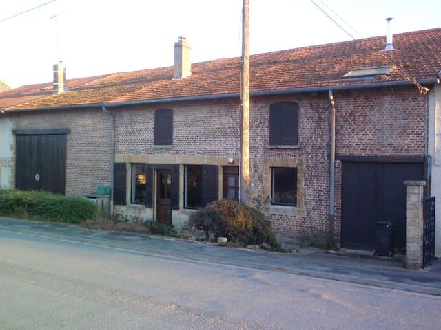 Maison de Campagne en Ardennes - Quatre-Champs - Hus