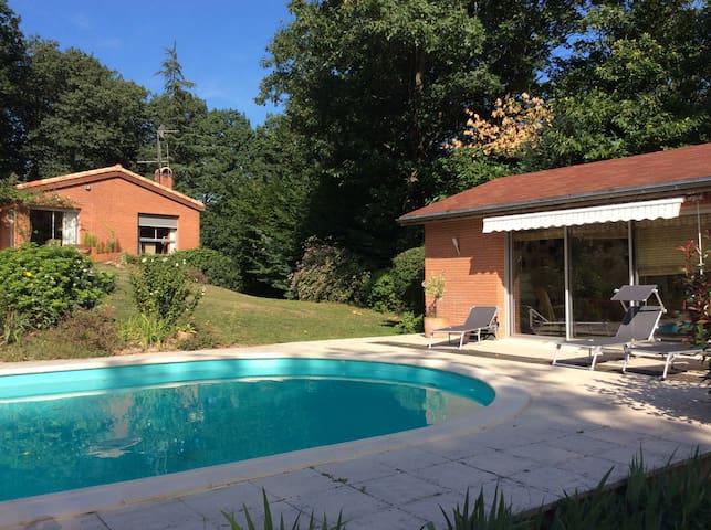 Magnifique villa d'architecte - Pont-de-Larn - Hus