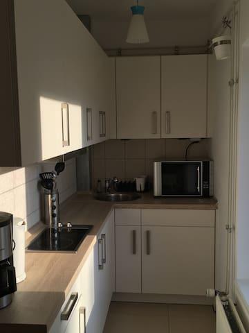 Nette kleine Wohnung im Zentrum - Kappeln - Huoneisto