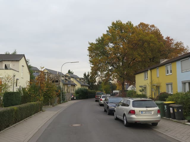 Best house / rooms in town, 11 min to MESSE fair ! - Frankfurt - Talo