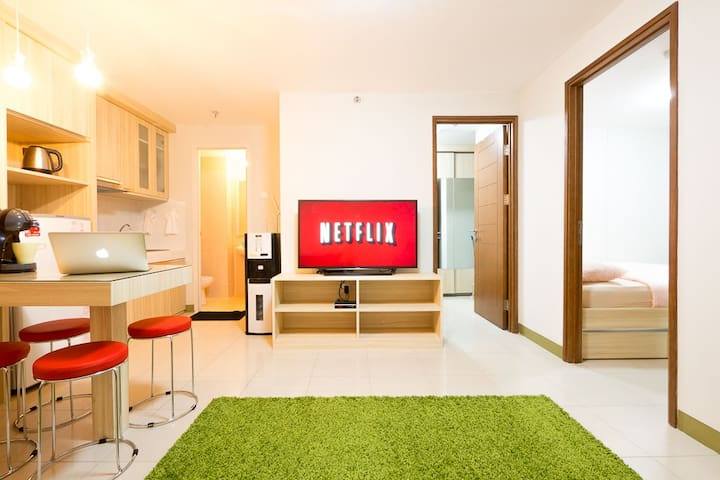★★★★★ PENTHOUSE FLOOR 1BR Apartment with City View - Kelapa Gading - Apartmen