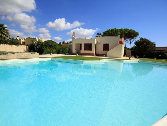 Sicily Holiday Delfini Con piscina vista mare - Caponegro - Villa