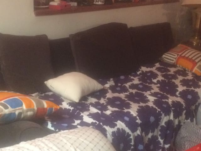 Cheap and comfy couch bed ! - Malden - Leilighet