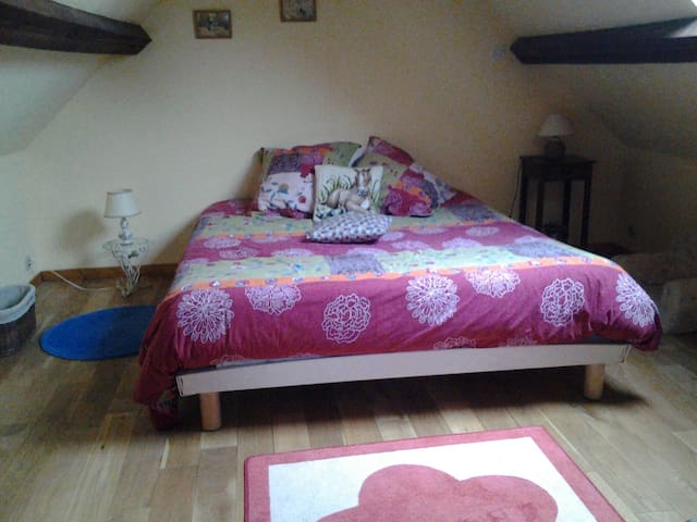 Chambres sympa au vert - Saint-Vaast-de-Longmont - Huis