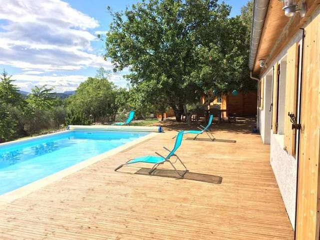 Rare : Villa, piscine, grand jardin ombragé - Ruoms - Lägenhet