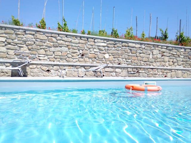 Cottage with private pool and free WI-FI - Spigno Monferrato - Villa