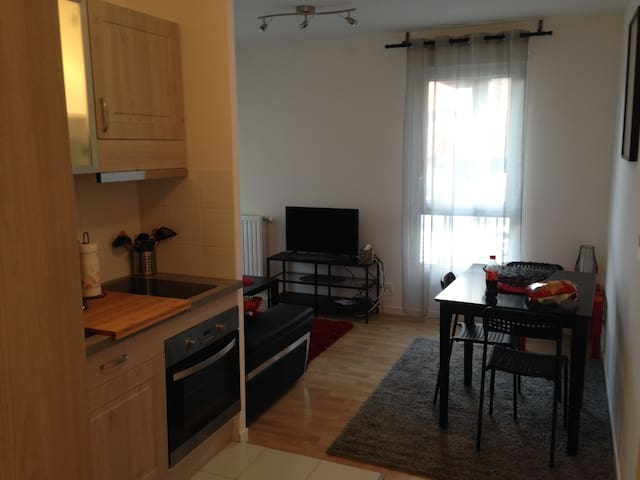 1 bed-room fully furnished brand new apartment - Cergy - Appartement
