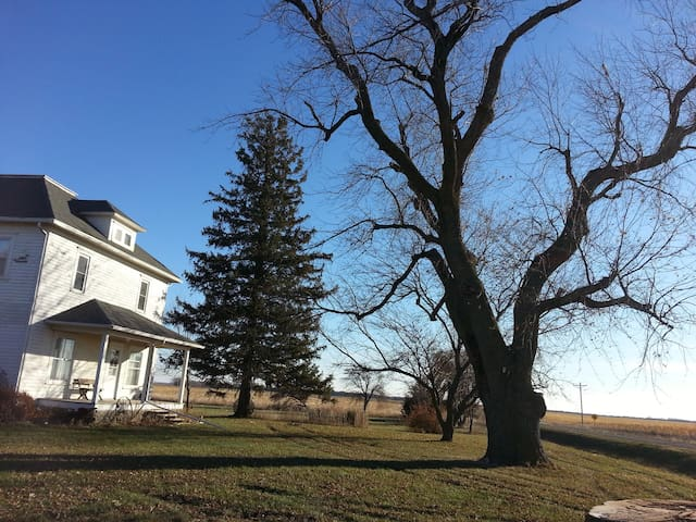 Historic house on the prairie - Webster City - Daire